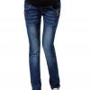 กางเกงยีนส์คนท้อง ผ้าหนา สีสวย มีผ้าพยุงครรภ์ มีสายปรับขนาดครรภ์ L,XL