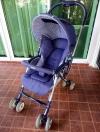 รถเข็นเด็ก Aprica สีน้ำเงินม่วง รหัสสินค้า SL0067