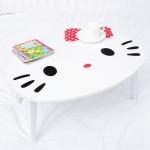โต๊ะญี่ปุ่น ลายคิตตี้ Hello Kitty Wooden Foldable Kids Table