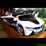 BMWi5mini (2มอเตอร์2แบต, ออกตัวสมูท, มีรีโมทบูลทูธ, เล่นUSB+sd+mp3, เพลงในตัวกว่า20เพลง, มีโช้ค, ประตูเปิดได้)