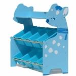 ชั้นวางของเล่น กวางฟ้า Deer Keeping Toys สีฟ้า ส่งฟรี