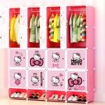 ตู้เก็บของ ตู้เสื้อผ้าเด็ก DIY 16 ช่อง
