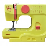 จักรเย็บผ้าจาโนเม่ รุ่น OMJ525BF YO (สีเหลือง)