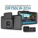 BlackVue DR750LW-2CH 16GB Full HD Dashcam Car Dashboard Camera LCD WiFi NEW