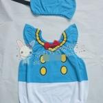 ชุดบอดี้สูท+หมวกแฟนซี มาใหม่ สไตล์เกาหลี มีไซส์ 90/95