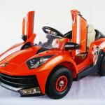 รถเด็กแบตเตอรี่ แลมโบกินีล้อยาง (เครื่องแรง!,2มอเตอร์2แบตเตอรี่ ,มีโช้คด้วย)