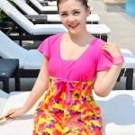 ชุดว่ายน้ำคนอ้วน พร้อมส่ง :ชุดว่ายน้ำแฟชั่นสีชมพูแต่งลายหัวใจสีสันสดใส กางเกงขาสั้นใส่ด้านในน่ารักมากๆจ้า:มีSize 3XL,6XL รายละเอียดไซส์คลิกเลยจ้า