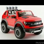 รถกะบะLONG Champion (เล่นUSB+SD+mp3, 2มอเตอร์1แบต12V, มีโช้ค, มีช่องเก็บของด้านหลัง, เปิดประตูได้)