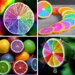 มะนาวสีรุ้ง Rainbow Lemon Seeds / 5 เมล็ด