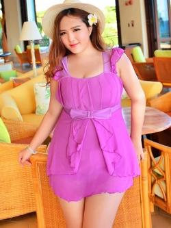 Swimsuit Bigsize พร้อมส่ง :ชุดสีชมพูแต่งโบว์ด้านหน้าแบบเก๋ กางเกงขาสั้นใส่ด้านในน่ารักมากๆจ้า:รอบอก36-42นิ้ว เอว34-40นิ้ว สะโพก42-50นิ้วจ้า