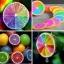 มะนาวสีรุ้ง Rainbow Lemon Seeds / 5 เมล็ด thumbnail 1