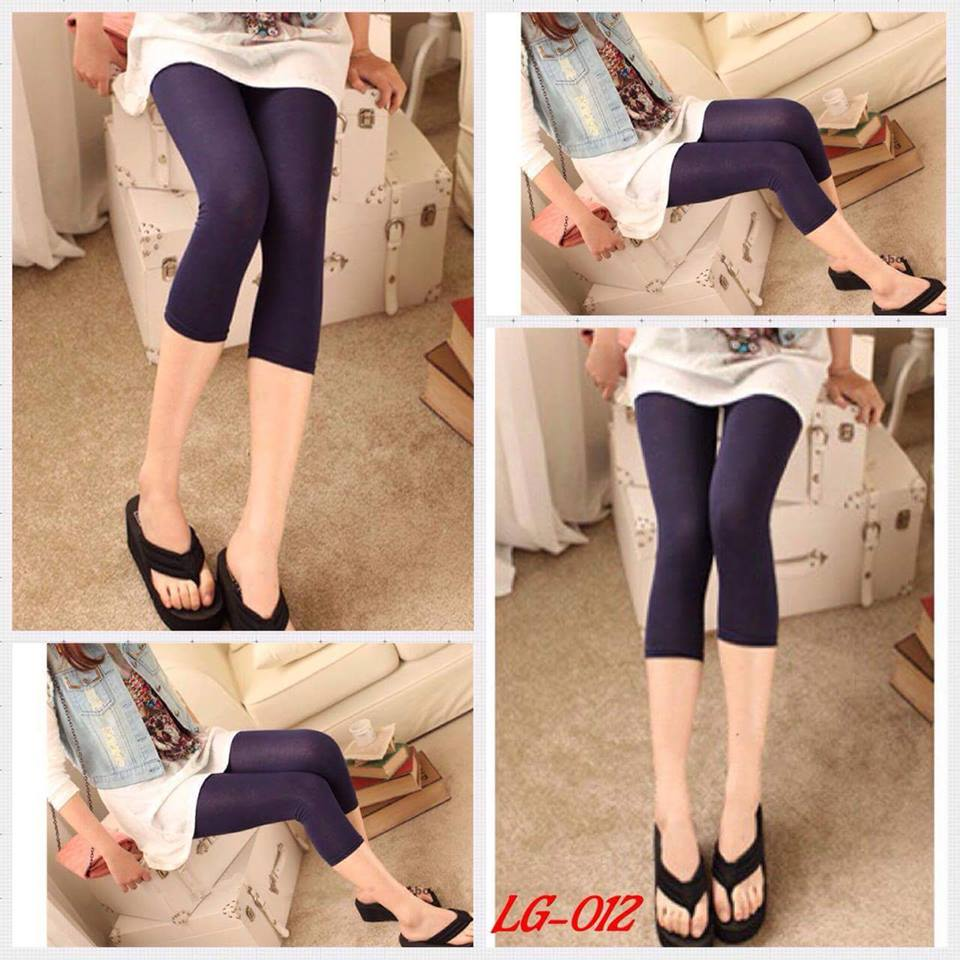 เลคกิ้งคนท้อง ขา4ส่วน สีน้ำเงินเข้ม M,L,XL