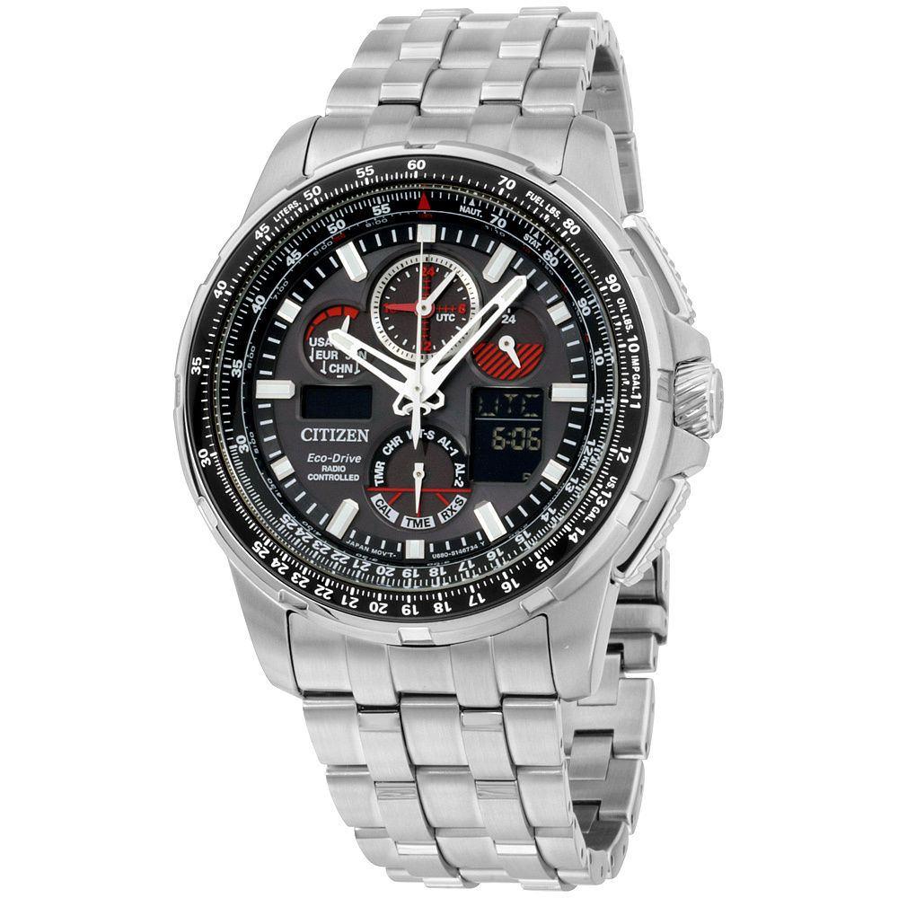 Citizen Eco Drive Jy8050 51e Promaster Skyhawk Ca4280 53e A T Radio Controlled Mens Watch