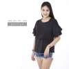 เสื้อให้นม Phrimz : Sophie Breastfeeding Top - Black สีดำ