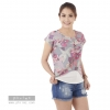 เสื้อให้นม Phrimz : Malee Breastfeeding Top - Gray