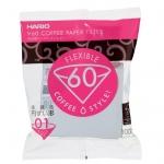 Hario V60 Coffee paper VCF-01-100W กระดาษกรอง สำหรับดริป ขนาด 01 (บรรจุ100 แผ่น)