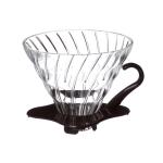 Hario V60 Glass Dripper ถ้วยแก้วใส สำหรับ ดริปกาแฟ ขนาด 02