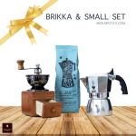 Bialetti Brikka 2 cup & Hario small SET