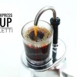 Bialetti หม้อต้มกาแฟ Moka pot รุ่น Mini Express 1cups (Siver)