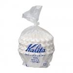 Kalita filter กระดาษกรองดริป รุ่น 185 dripper 100 แผ่น สีขาว