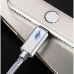 สายชาร์จถัก Joyroom S-Q4 Breathing Lamp iPhone 2 เมตร สีเงิน