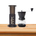 Aeropress coffee maker & Hario Skerton grinder