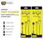 สายชาร์จ ENYX Hyper Charging Cable Micro USB 2.1A Fast Charge