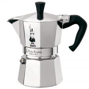 Bialetti หม้อต้ม กาแฟสด รุ่น Moka Express ขนาด 3 cup (สีเงิน)