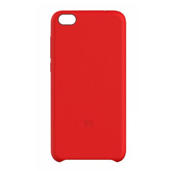 เคส Xiaomi Mi 5C Silicone Protective Case - สีแดง