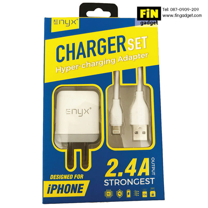 ENYX Charger set ชุด Adapter 2.4A พร้อมสายชาร์จ iPhone