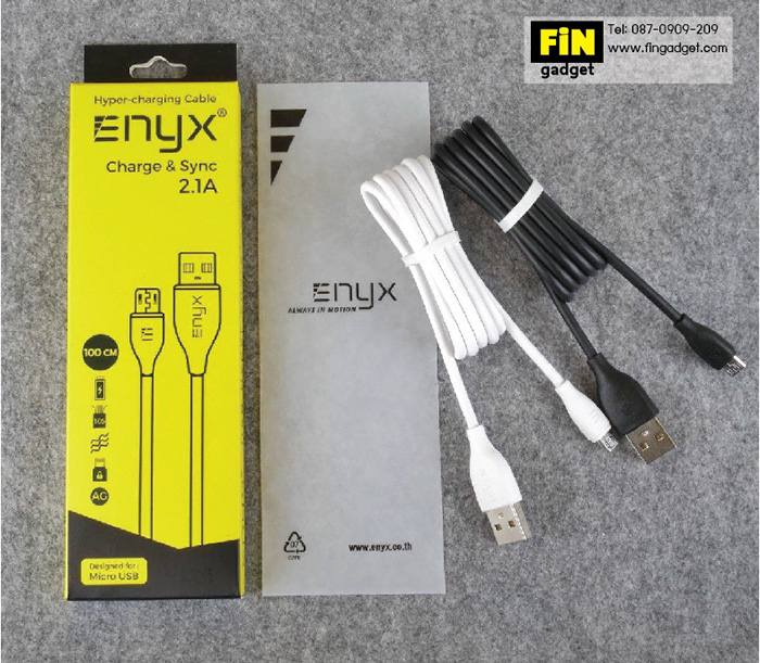 ENYX Hyper Charging Cable Micro USB 2.1A Fast Charge