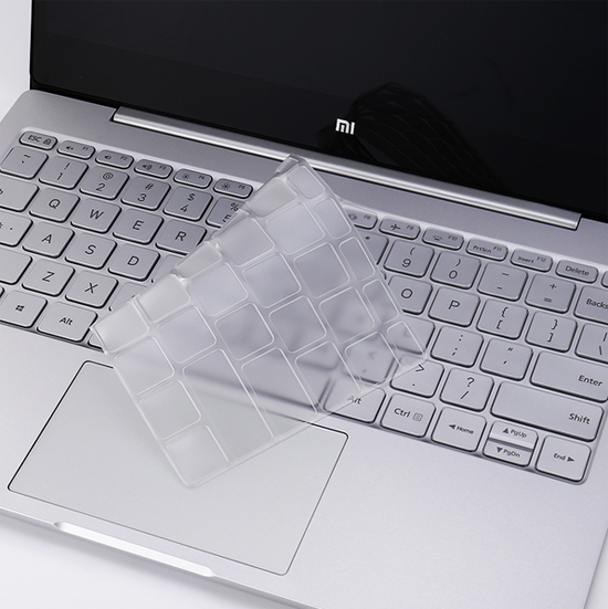 แผ่นซิลิโคนใสกันฝุ่นแป้นคีบอร์ด สำหรับ Mi Notebook Air