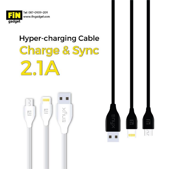 สายชาร์จ ENYX Hyper Charging Cable Micro USB