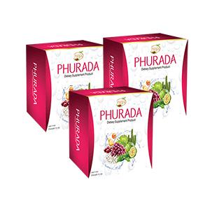 สูตร ฟื้นฟูระบบขับถ่าย ภูรดา ชนิดเข้มข้น (Phurada) 3 กล่อง