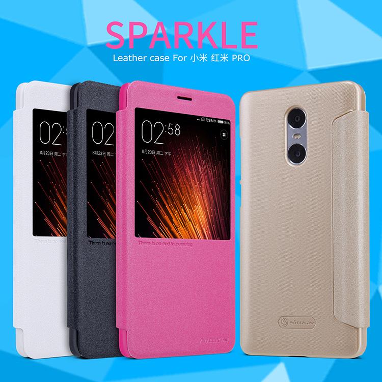 เคส Xiaomi Redmi Pro Nillkin Sparkle Leather Case