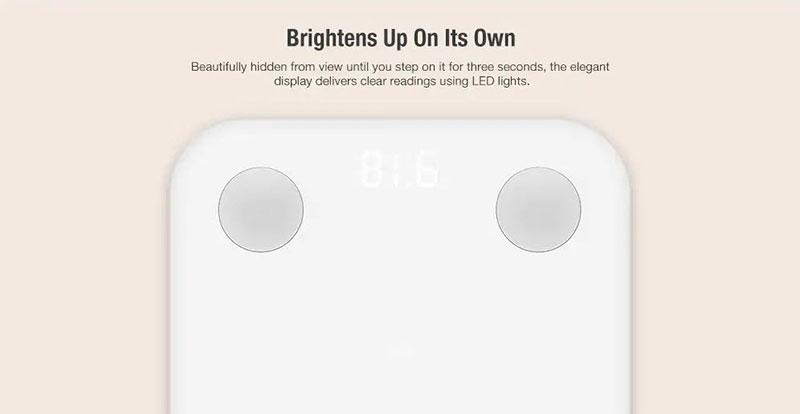 Xiaomi Body Composition Scale 2 - เครื่องชั่งน้ำหนักวัดมวลไขมัน ...
