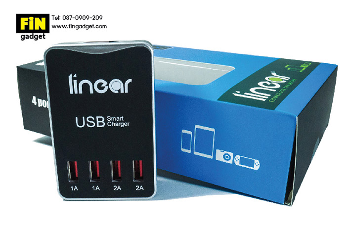 smart charger usb 4 port