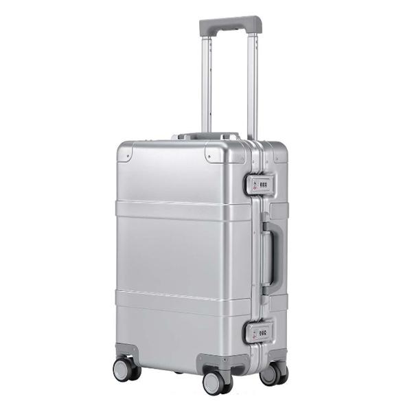"""(พร้อมส่ง) Xiaomi 90 Smart Metal Travel Suitcase 20"""" - กระเป๋าเดินทางล้อลากเหล็กอัจฉริยะ ขนาด 20 นิ้ว (รุ่นบูลทูธ)"""