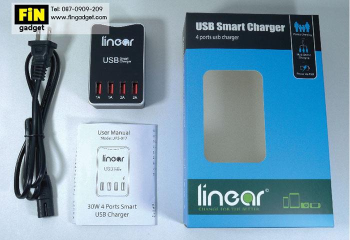 ที่ชาร์จ USB HUB 4 Ports