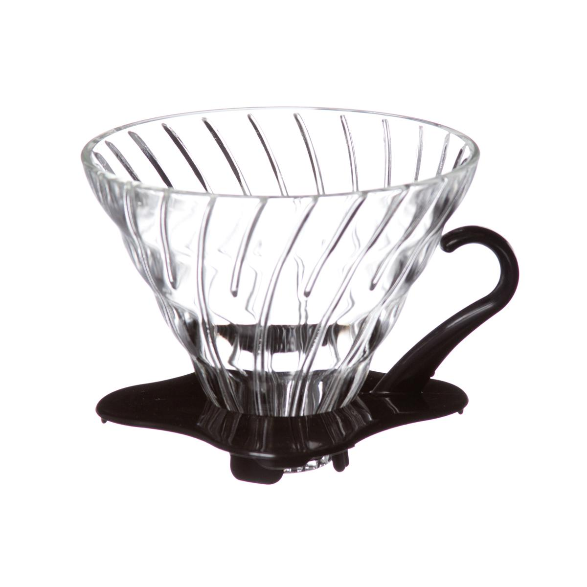 Hario V60 Glass Dripper ถ้วยแก้วใส สำหรับ ดริปกาแฟ ขนาด 01