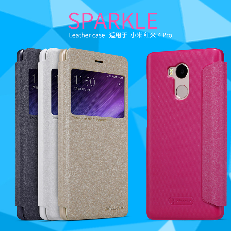 เคส Xiaomi Redmi 4 Pro Nillkin Sparkle Leather Case