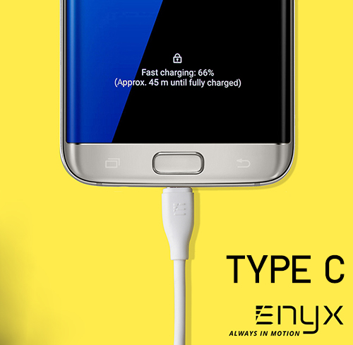 สายชาร์จ ENYX Hyper Charging Cable Type C 2.1A Fast Charge
