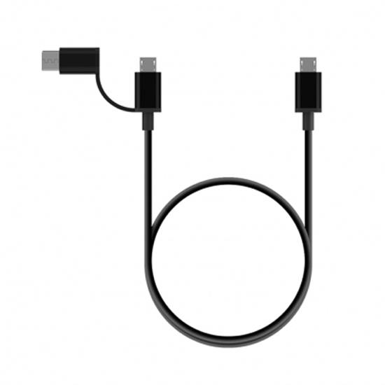 สาย Xiaomi OTG Data Cable (Micro USB + Type C)