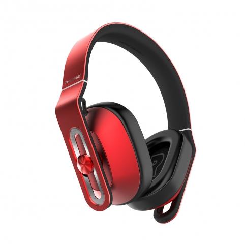1MORE Design Over-Ear Headphones - สีแดง