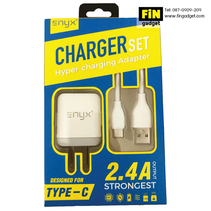 ENYX Charger set ชุด Adapter 2.4A พร้อมสายชาร์จ