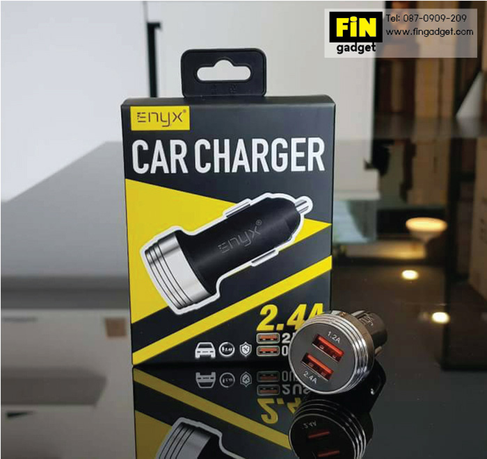 ENYX Car Charger 2.4A 2 USB