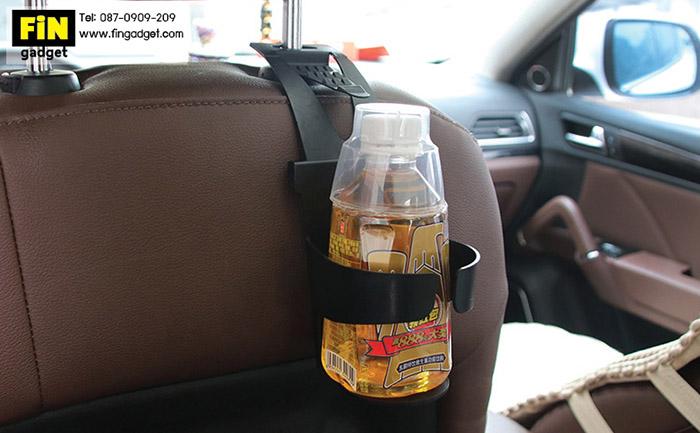 ที่แขวนแก้ว ขวดน้ำติดข้างกระจกและหลังเบาะนั่งในรถ ราคา