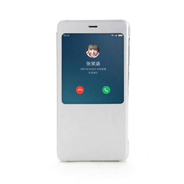 เคส Xiaomi Redmi Note 4 Smart Flip Case - สีเงิน