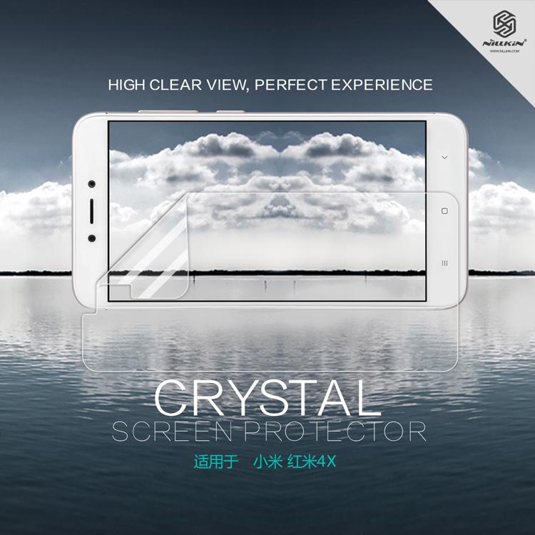 ฟิล์มกันรอยใส Nillkin Super Clear สำหรับ Xiaomi Redmi 4X