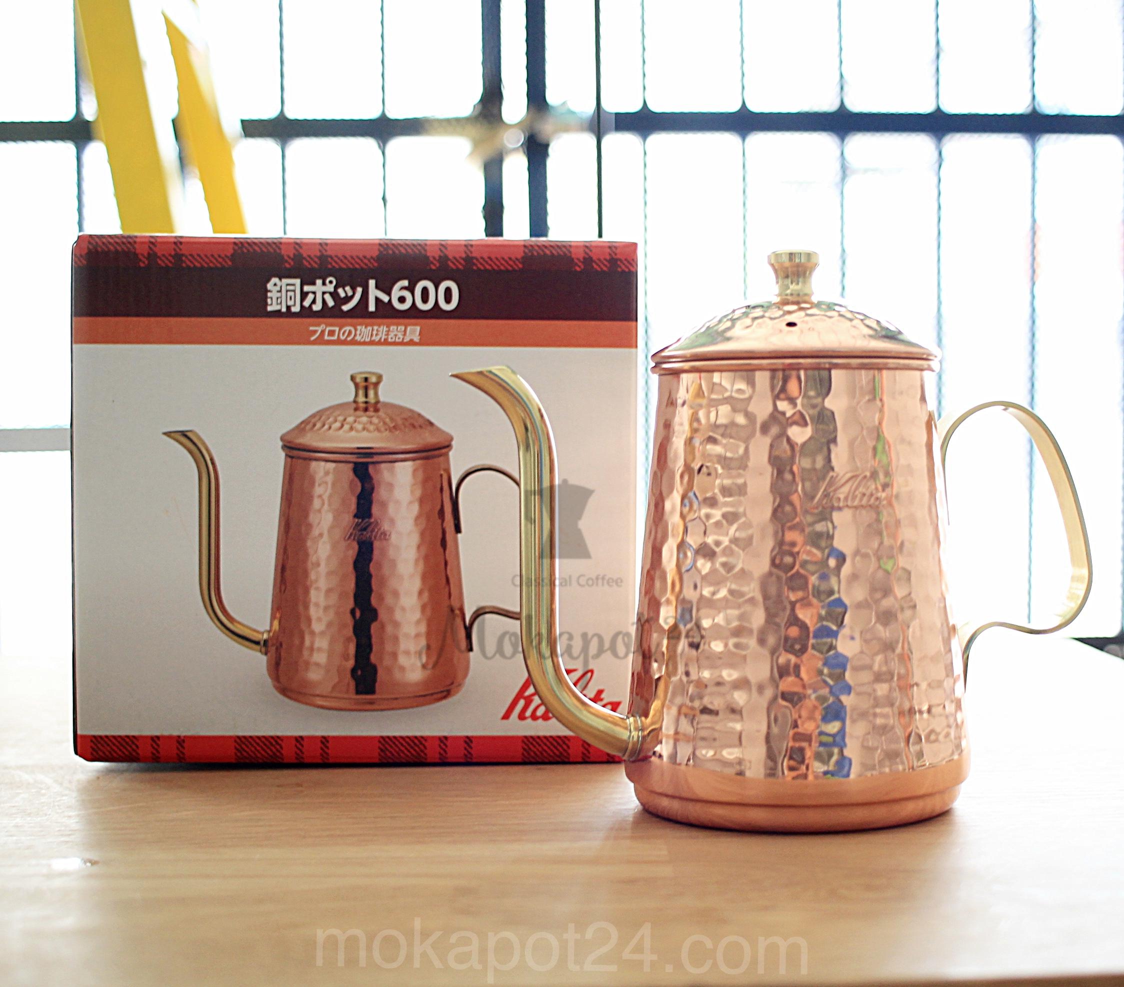 Kalita Coffee Drip Kettle กาดริปกาแฟ Copper Pot 600ml (Bronze)